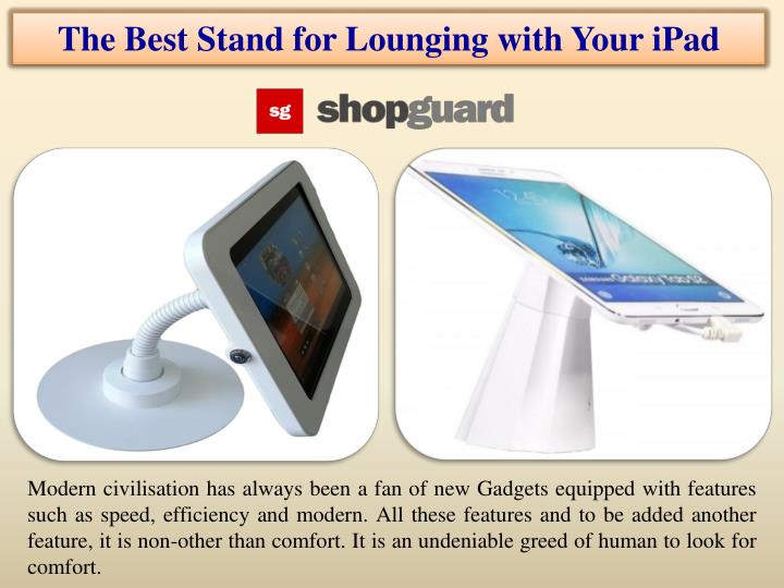 the best stand for lounging with your ipad n.