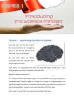 chapter 1 chapter 1 introducing the warrior