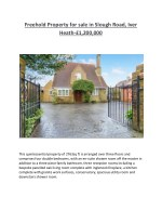 freehold property for sale in slough road iver