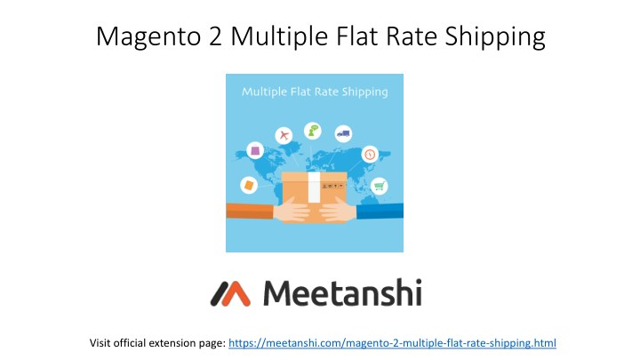 magento 2 multiple flat rate shipping n.