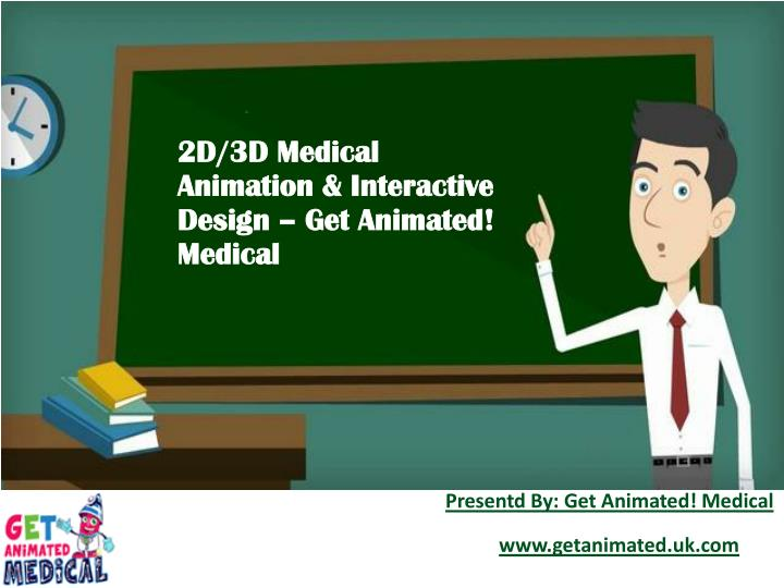 2d 3d medical animation interactive design n.
