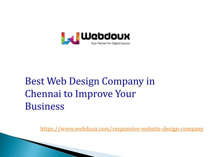 best web design company in chennai to improve n.