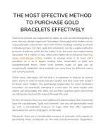 the most effective method to purchase gold