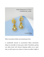 where to purchase indian conventional gems from
