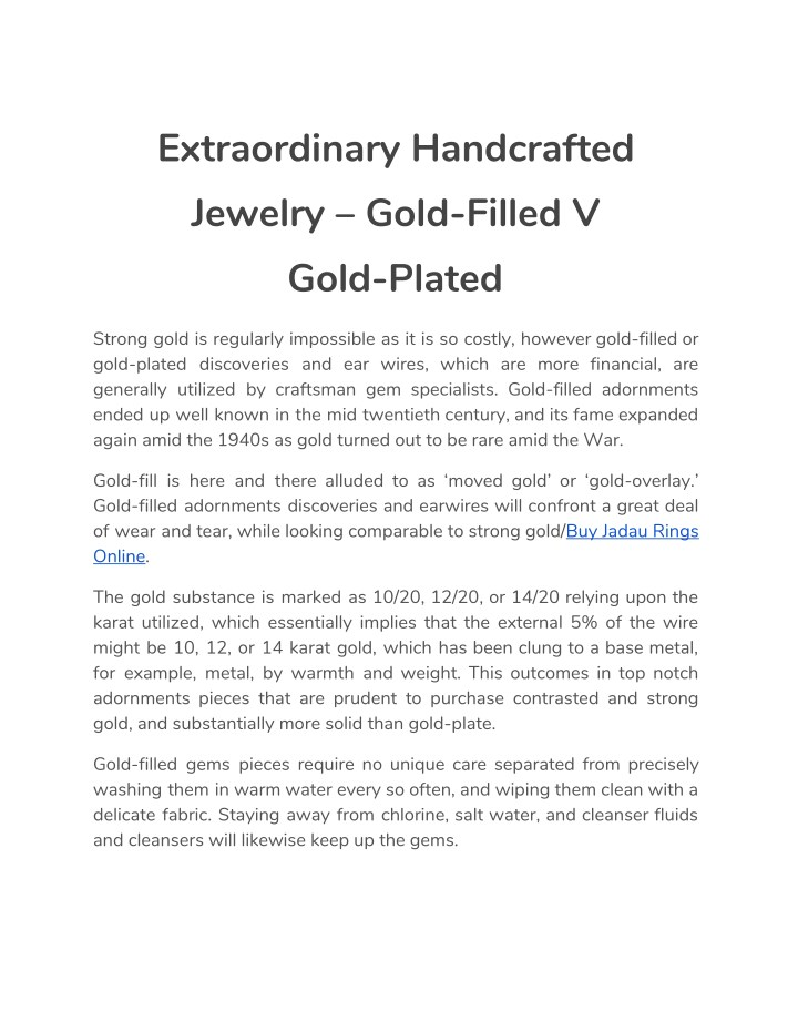 extraordinary handcrafted jewelry gold filled n.