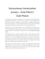 extraordinary handcrafted jewelry gold filled