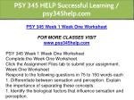 psy 345 help successful learning psy345help com 2