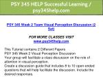 psy 345 help successful learning psy345help com 4
