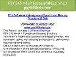 psy 345 help successful learning psy345help com 7