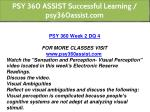 psy 360 assist successful learning psy360assist 11