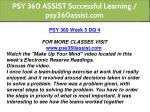 psy 360 assist successful learning psy360assist 29
