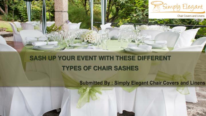 submitted by simply elegant chair covers and linens n.