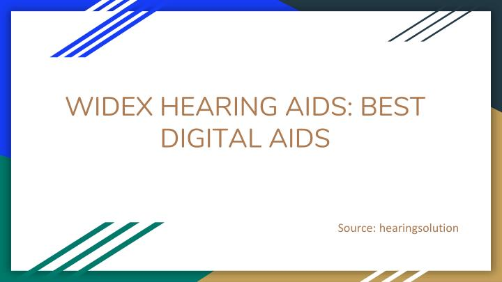 widex hearing aids best digital aids n.