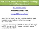 psy 360 homework successful learning 23