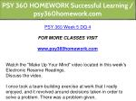psy 360 homework successful learning 29