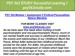 psy 362 study successful learning psy362study com 3