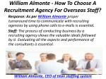 william almonte how to choose a recruitment agency for overseas staff 6