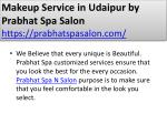 makeup service in udaipur by prabhat spa salon https prabhatspasalon com 2