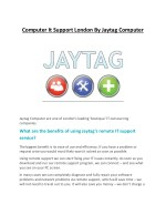 computer it support london by jaytag computer