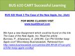 bus 620 cart successful learning 10