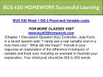 bus 630 homework successful learning 4