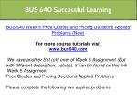 bus 640 successful learning 17