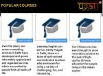 popular courses