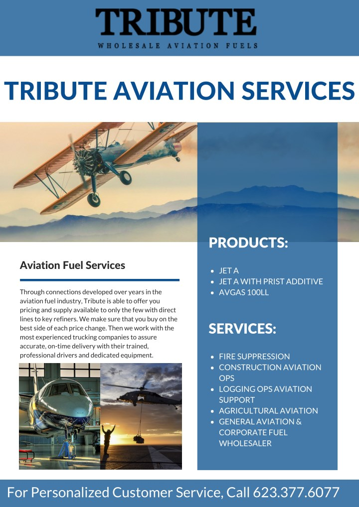 tribute aviation services n.