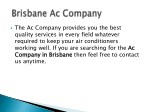 the ac company provides you the best quality