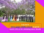 log on to www agape studio com au to get in touch