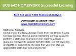 bus 642 homework successful learning 15