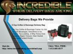 delivery bags we provide 1