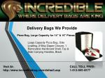 delivery bags we provide 2