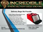 delivery bags we provide 3