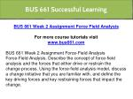 bus 661 successful learning 21