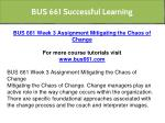 bus 661 successful learning 22