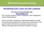 bus 660 successful learning 17