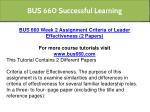 bus 660 successful learning 4