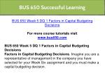 bus 650 successful learning 15