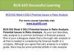 bus 650 successful learning 19