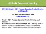 bus 644 successful learning 11