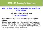 bus 644 successful learning 13