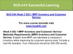 bus 644 successful learning 14
