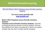 bus 644 successful learning 15
