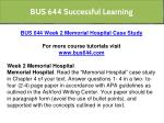 bus 644 successful learning 6