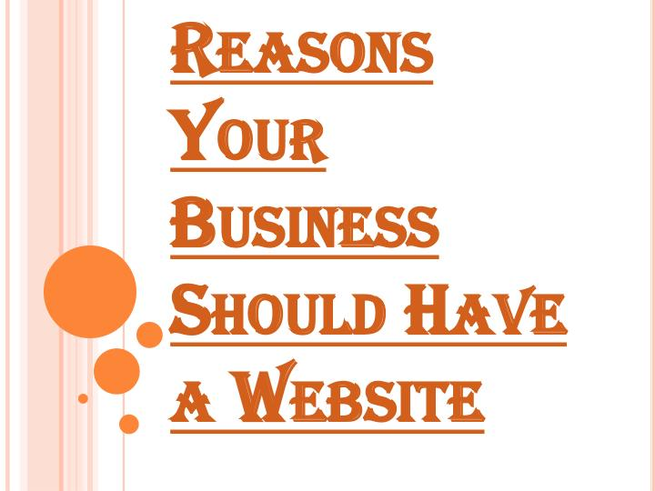 reasons your business should have a website n.