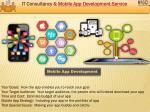 it consultancy mobile app development service