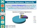 customer experience superiority