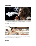 secondhand smoke secondhand smoke