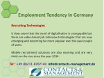 employment tendency in germany 3